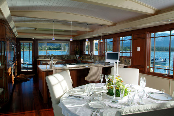 Luxury houseboats designs plans